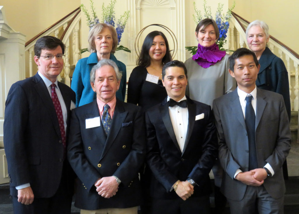 2015-2016 Board of Trustees Top Row: Carol Kirkman (First Vice President), Sabrina Alano, Heidi DuBois, Carol EmmerlingBottom Row: David Poppe, Neil Osborne, Victor Fidel (President), Li Yu (Second Vice President)