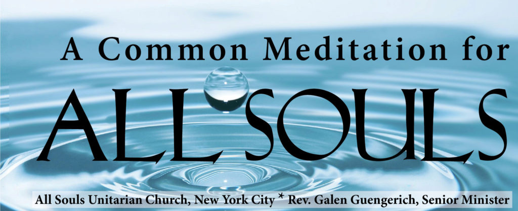 A Common Meditations for All Souls