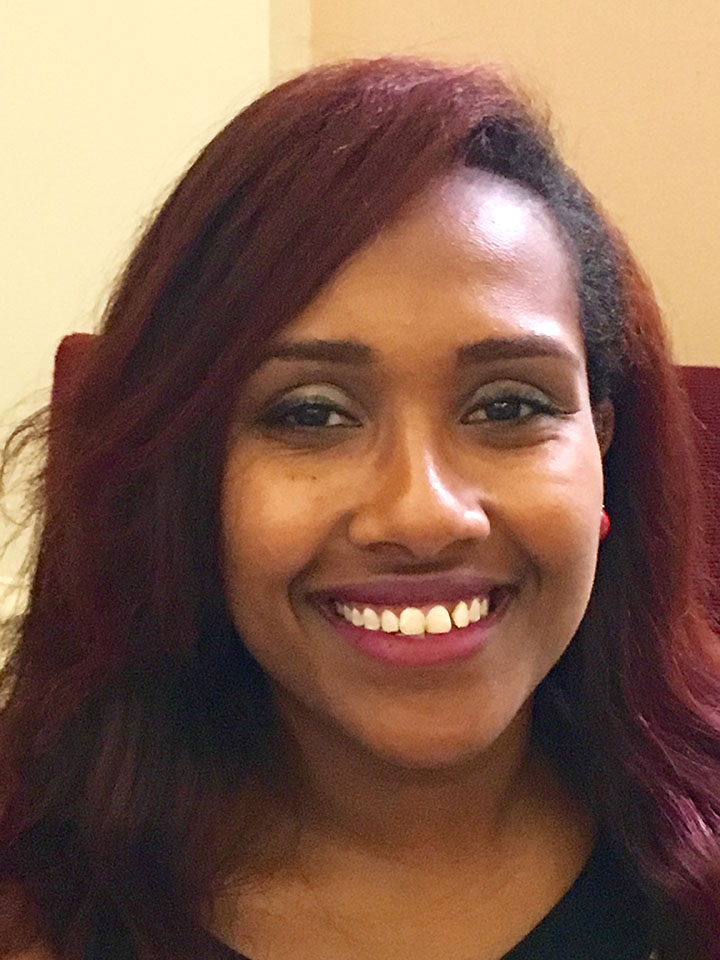 Seble (Leesha) Alemu, Membership and Administrative Assistant